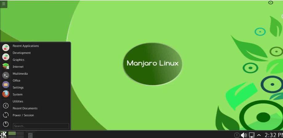 Manjaro 0.9.0 (dev) con Plasma 5