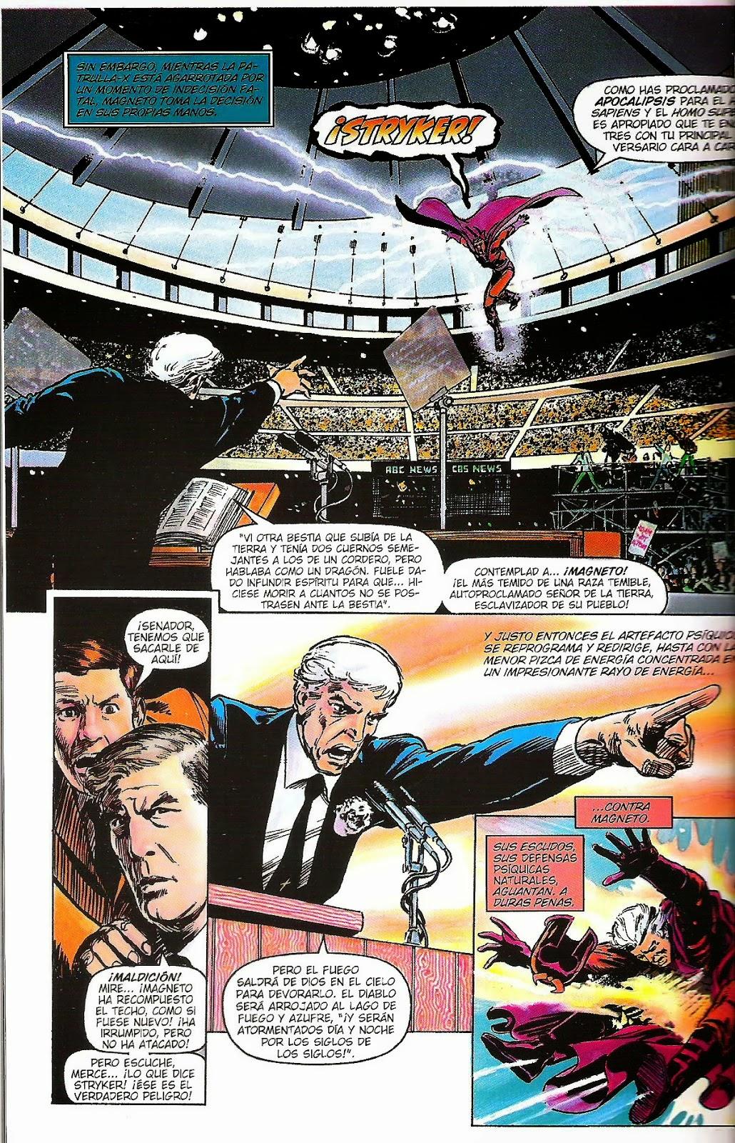 La historia narra la confrontación de los X-Men con un nuevo movimiento  anti mutante liderado por el reverendo William Striker.