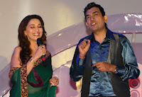Smiling, Madhuri, @, An, Event