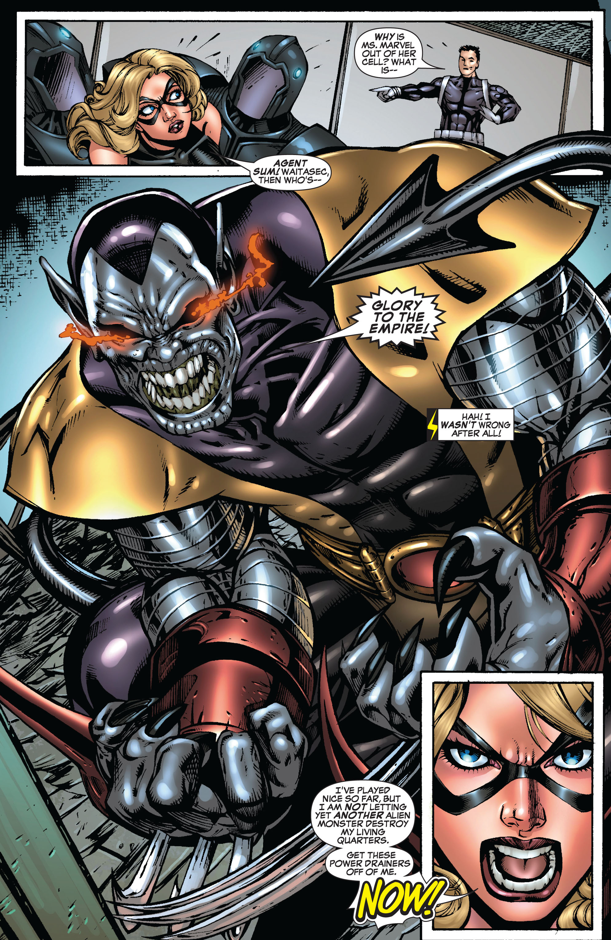 Read online Secret Invasion: The Infiltration comic -  Issue #9 - 19