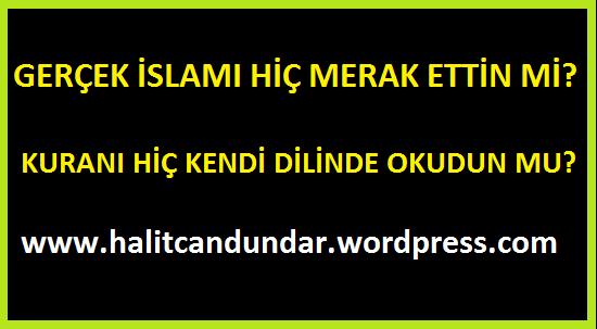Gerçek İslam'ı Merak Ettin mi?