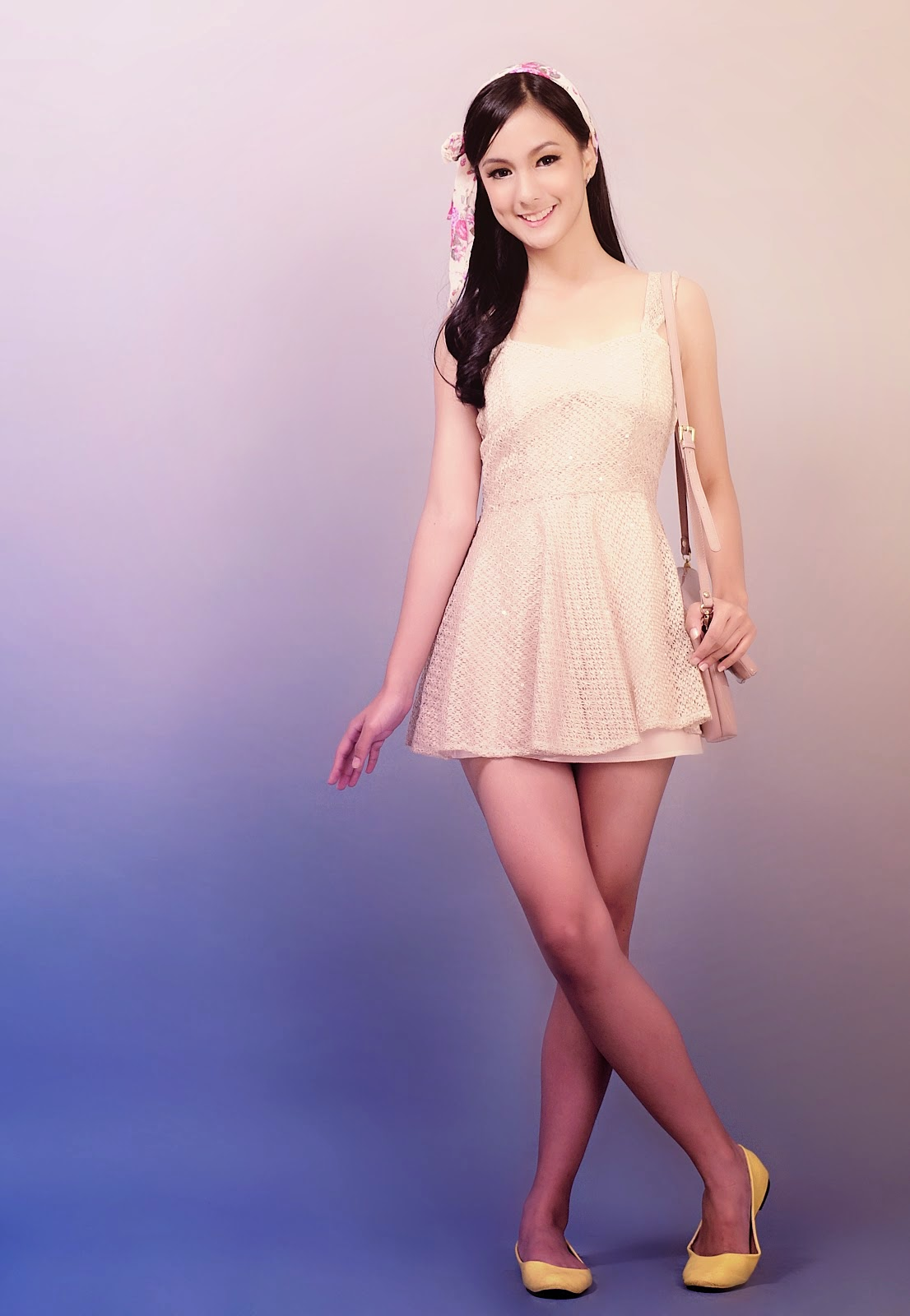foto artis muda cantik Nasya Marcella