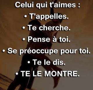 Phrase d'amour ❤