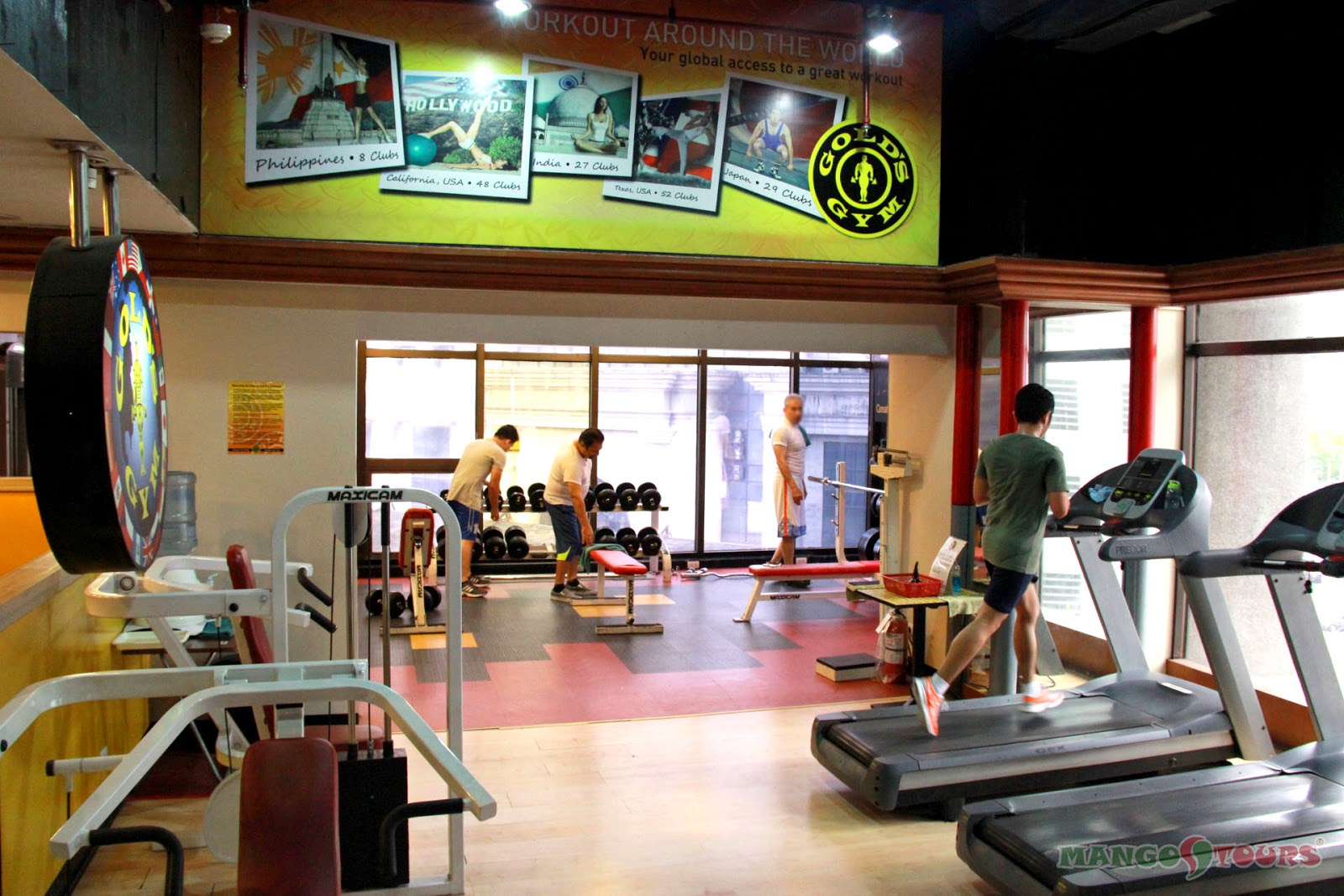 Mango Tours Holiday Inn Manila Galleria Gym Philippines