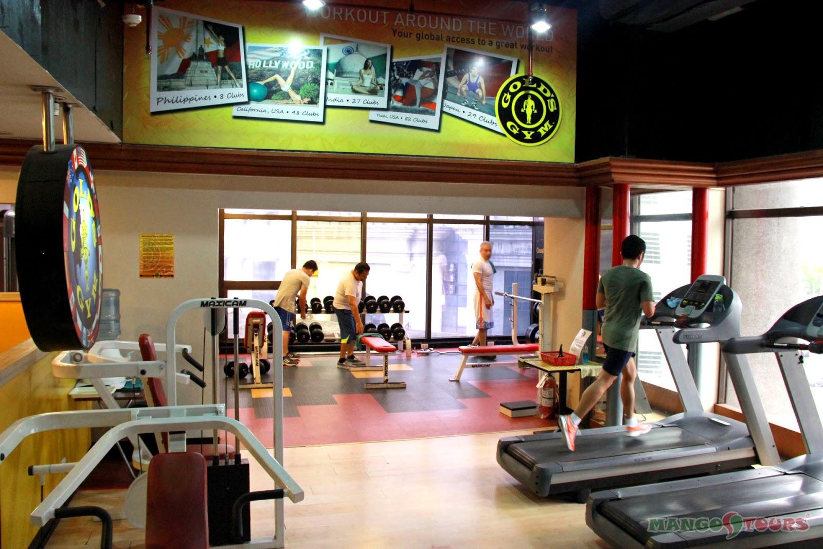 Mango Tours Holiday Inn Manila Galleria Gym Philippines