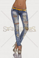 Jeans Extravagant Look Blue