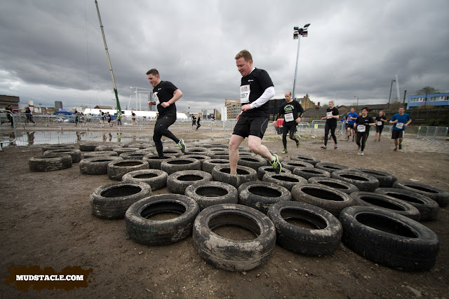 Tyre run - Survival of the Fittest London