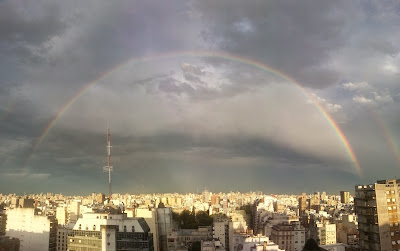 Big Rainbow in Buenos Aires city !