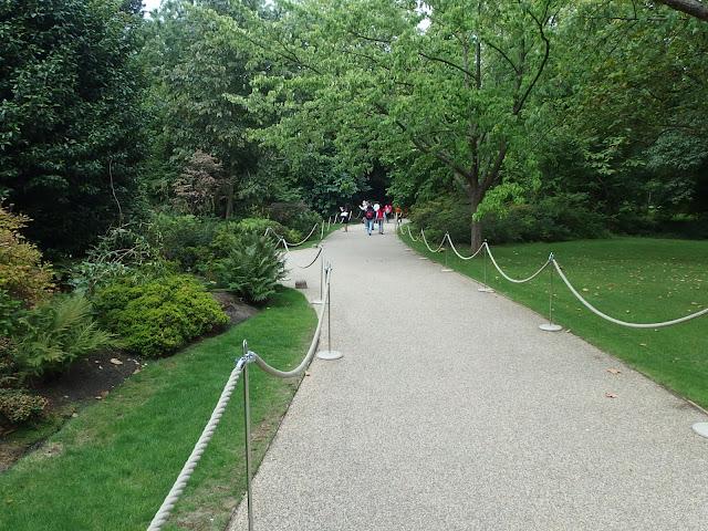Exit through the Palace gardens