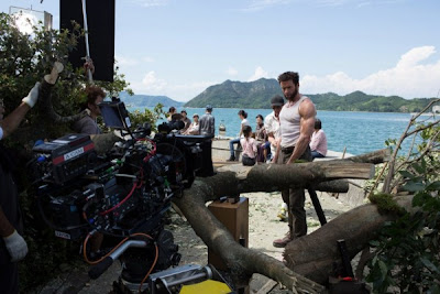 The Wolverine On Set Picture