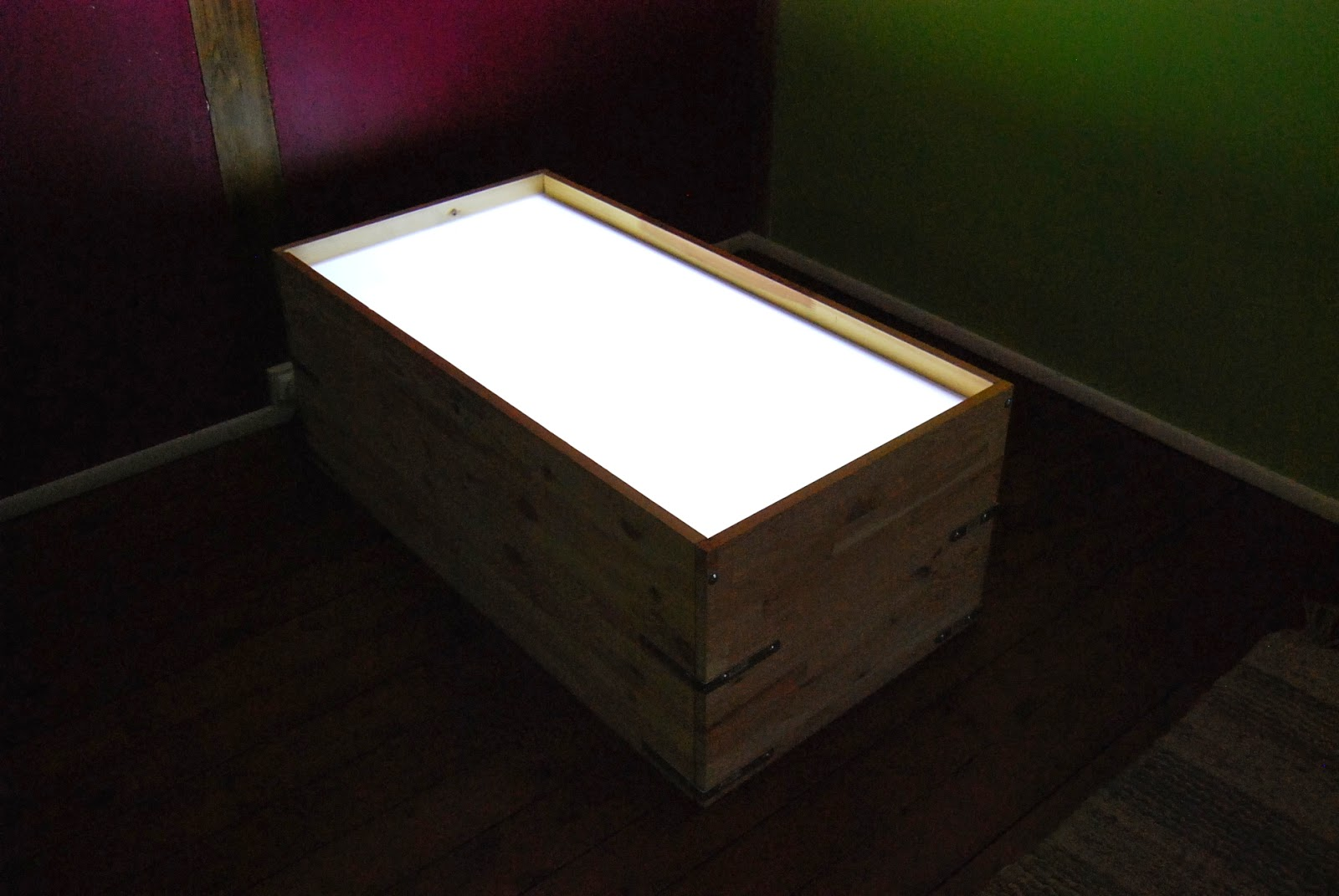 Merci Qui Merci Montessori Table Lumineuse Un Exemple De Progression D Couverte