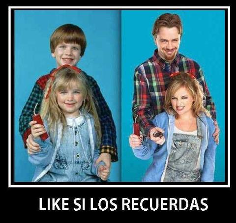 pelicula Problem child, antes y despues