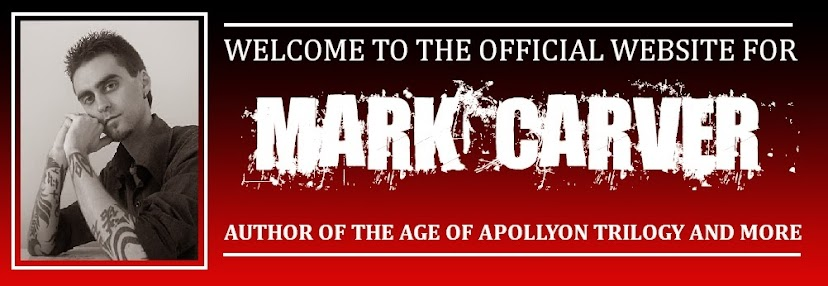 Homepage for Author Mark Carver