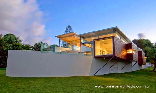Residencia contemporánea australiana de diseño original
