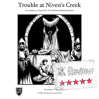 Trouble at Niven's Creek 5 Star Review from the Frugal GM