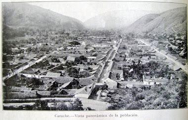 Vista panoramica de Carache