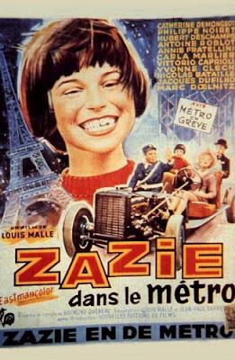 Зази в метро / Zazie in the Metro / Zazie dans le métro.