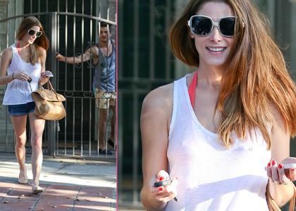 Pool Partier Ashley Greene Keeps Mum On Co-Stars' Cheating Woes » Gossip | Ashley Greene