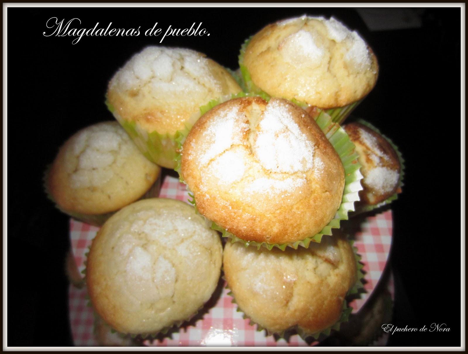 El puchero de nora magdalenas de pueblo - Pequerecetas magdalenas ...