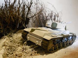 diorama de la segunda guerra mundial