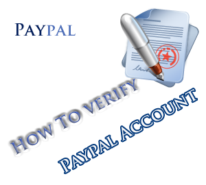 verify paypal account