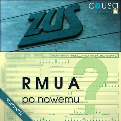 ZUS: RMUA - po nowemu