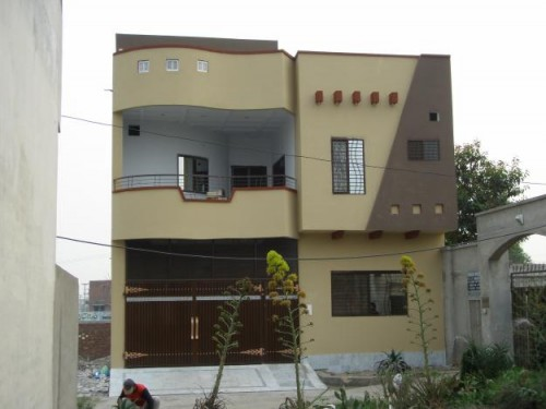 New home designs latest pakistan modern homes front designs for Latest window designs for house