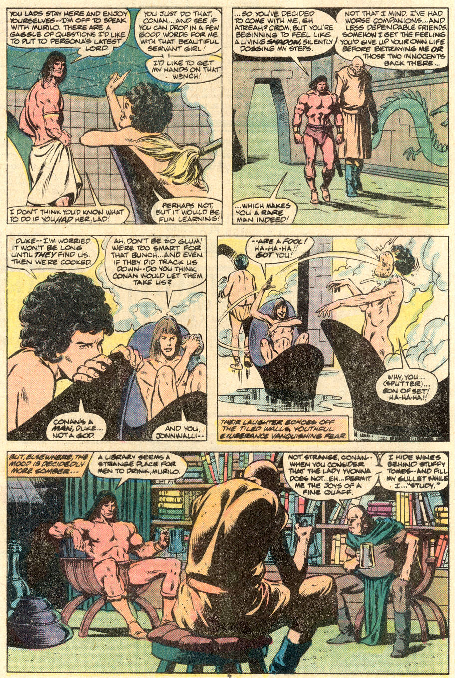 Conan the Barbarian (1970) Issue #123 #135 - English 7