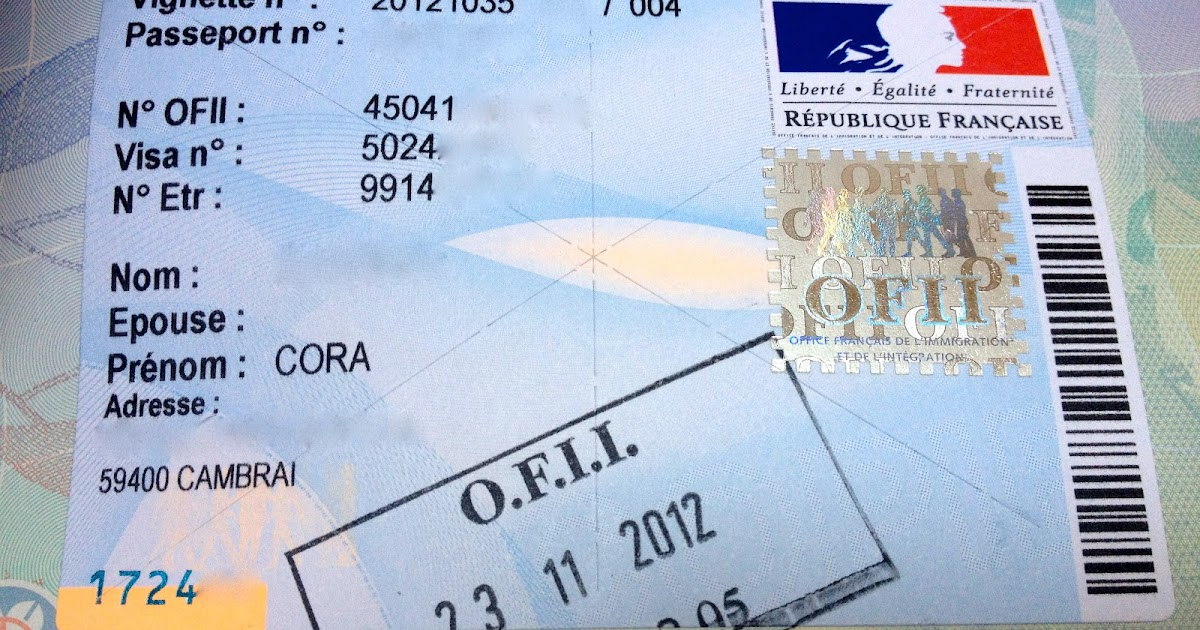 The adventures of an australian girl in france the - Ofii office francais immigration integration ...