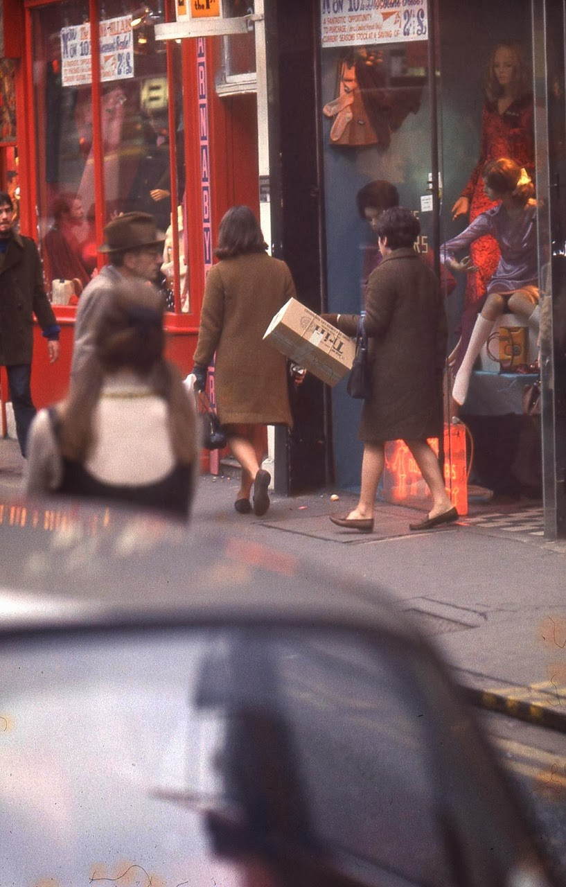 Street Scenes In London From The 1960s 1970s Vintage