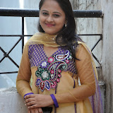 Usha Photos in Salwar Kameez at Gundello Guchi Guchi Champake Movie Press Meet 9