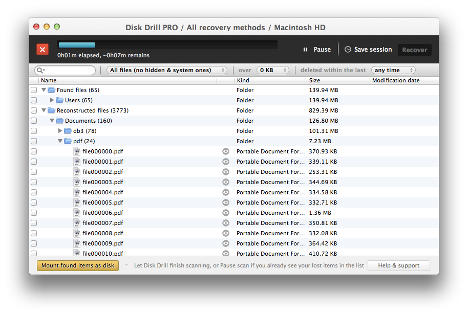 how to get deleted files back on mac