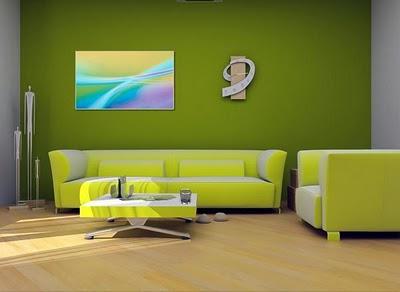 Home Interior Design With Green Color Combination. Green Home Design Is The  Dream Of Everyone, Because It Is Very Nice And Cool, Home Design Uses A  Very ...