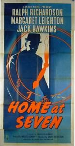 Movie Poster for Home at Seven, 1952