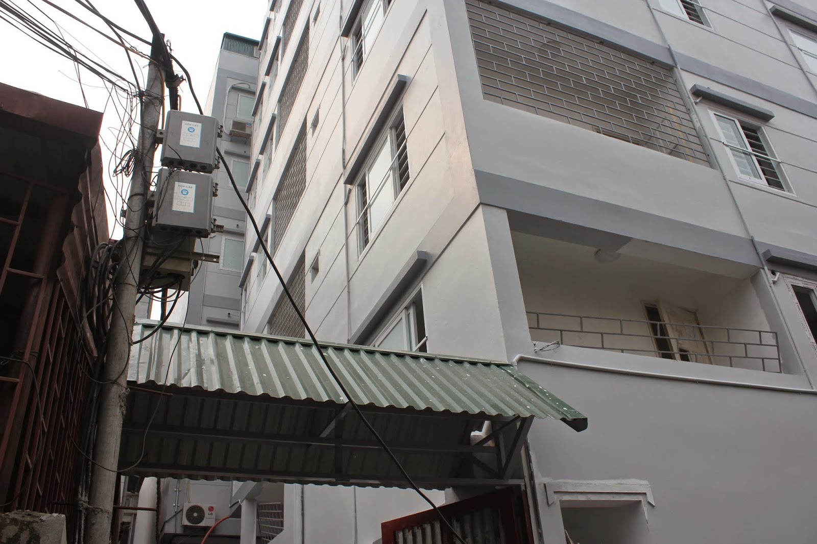 tòa nhà chung cư mini nhật tảo
