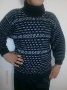Hamis norvég mintás kötött pulcsiaim