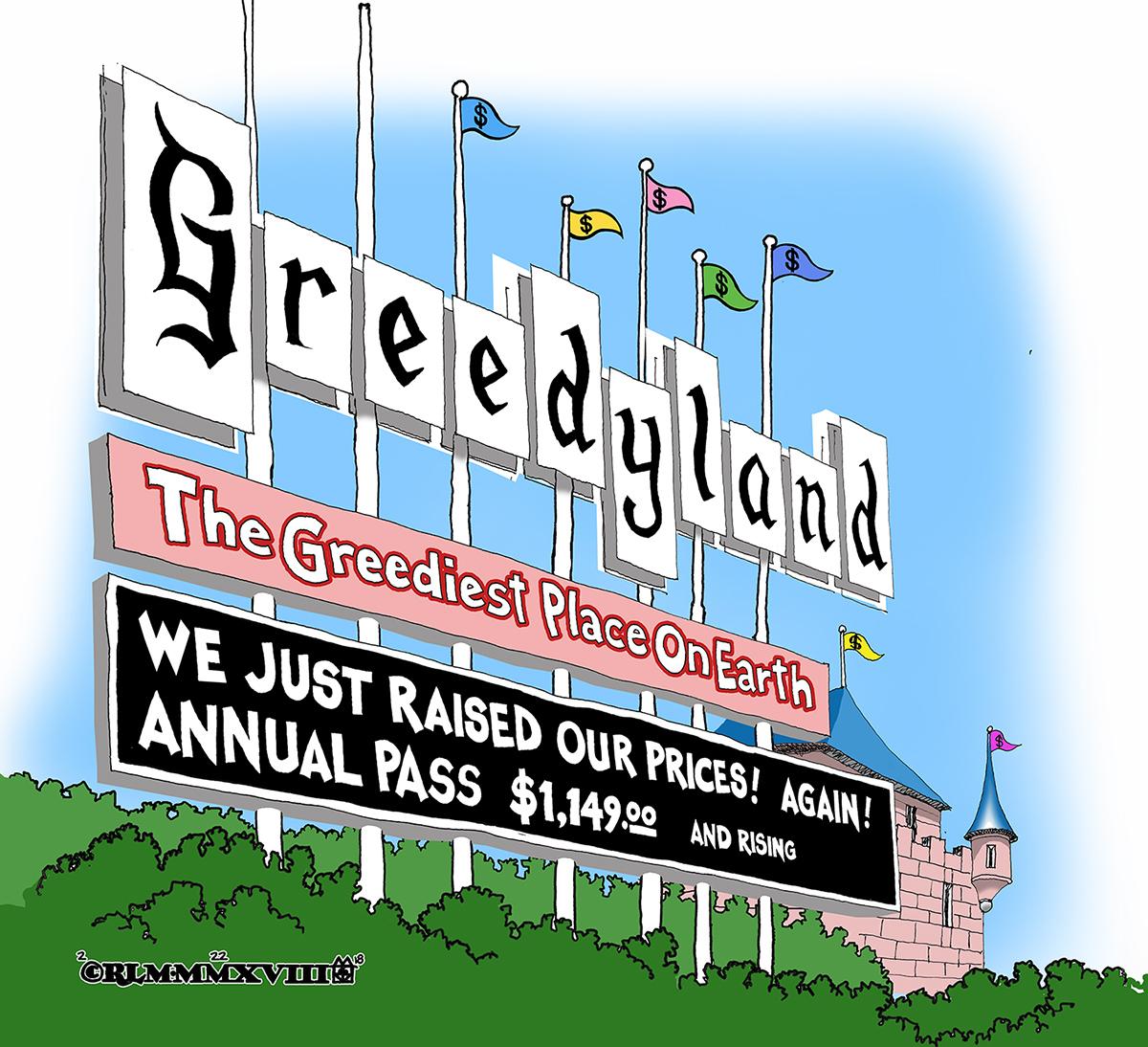 GREEDYLAND