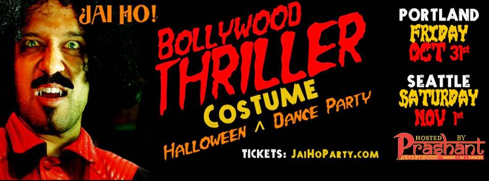 Seattle's biggest Halloween party, Best bollywood party, Most happening seattle bollywood party, Indian halloween party, Dj Prashant Halloween party