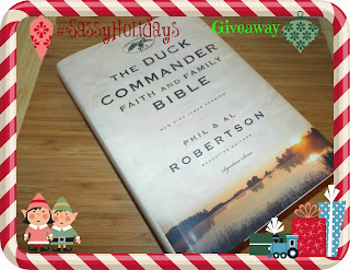 The Duck Commander Faith and Family Bible Giveaway