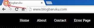 Cara merubah desain favicon blog