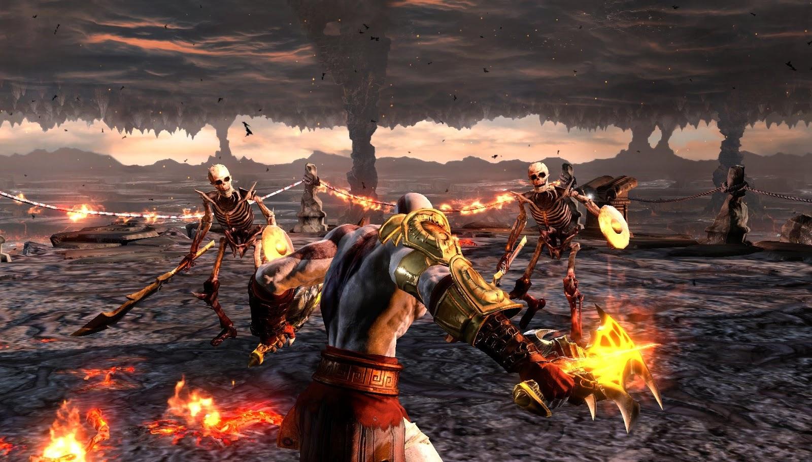 دانلود بازی god of war 3 برای کامپیوتر با لینک مستقیم