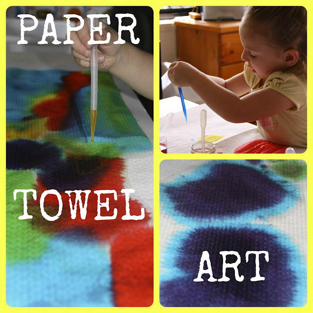 Paper Towel Art Projects