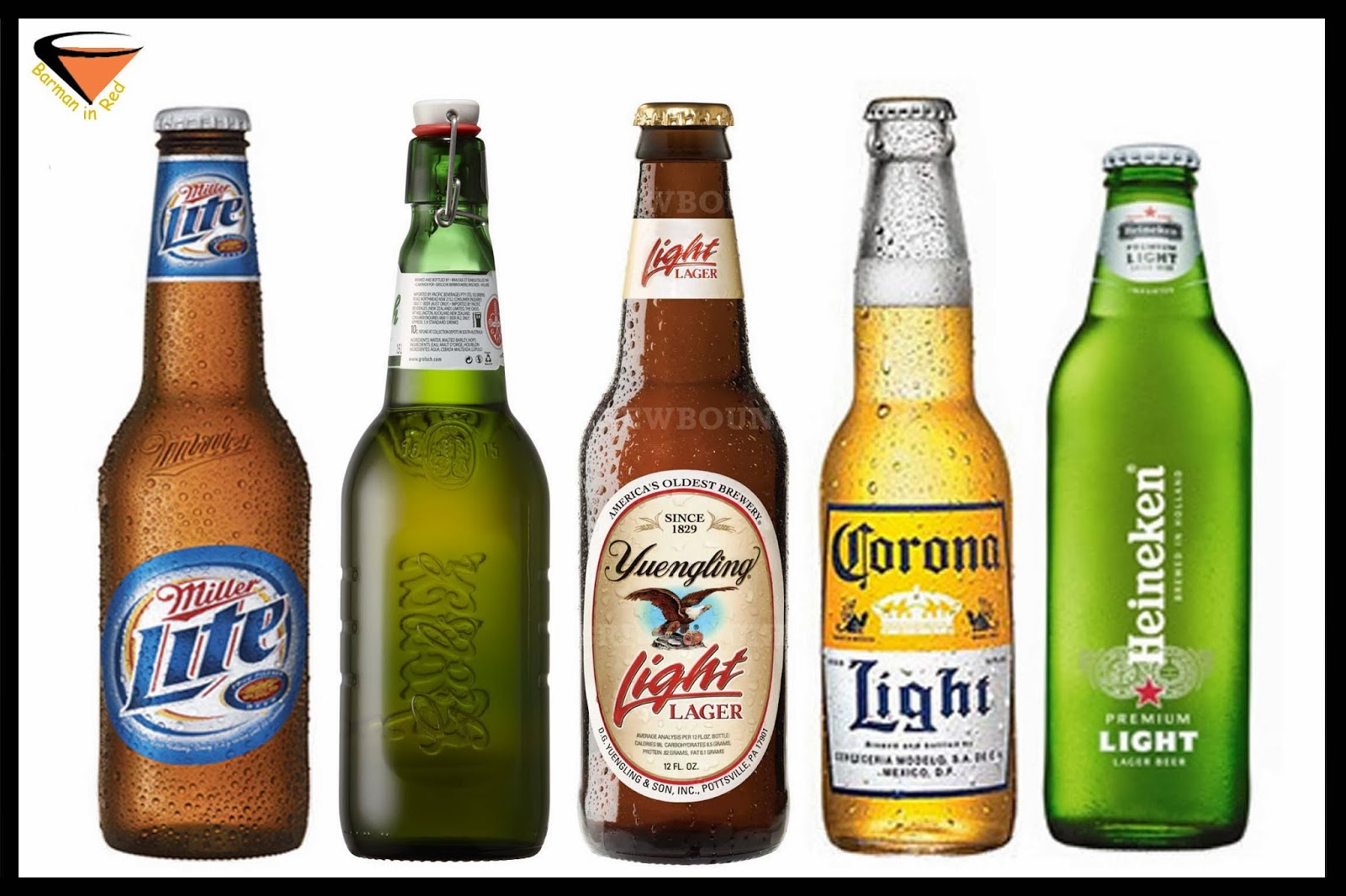Las 10 cervezas que menos engordan