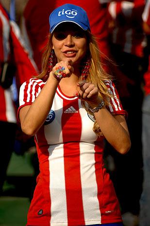 Paraguay Beauties Celebrate Copa America 2011 Photos