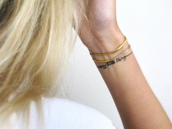 Most beautiful tattoos bracelet tattoos tumblr for Wrist bracelet tattoos with names