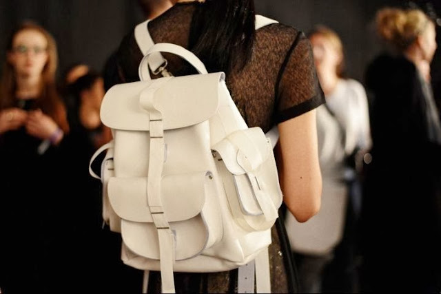 leather backpack, wishlist