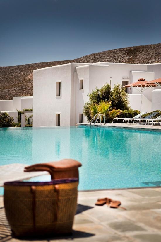 Anemi Hotel in Folegandros island, Aegean sea