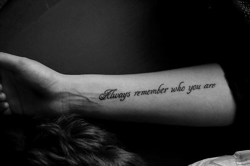 Arm Quote Tattoos Women Fashion And Lifestyles