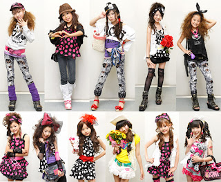 Girls Japanese fashion