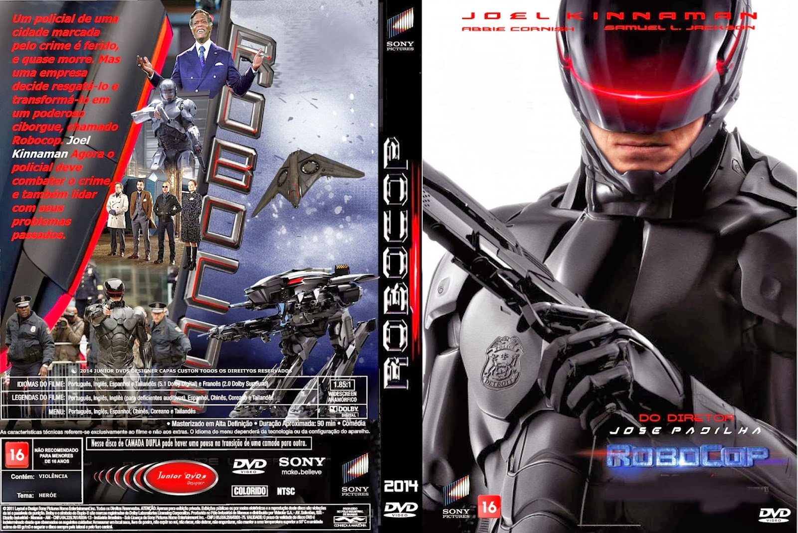 Baixar Filme  Robocop (Robocop) TS AVi Dublado (2014)